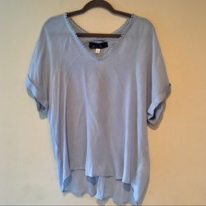 Francesca's Collections Tops - NWT FRANCESCA'S COLLECTION SHORT SLEEVE BLOUSE
